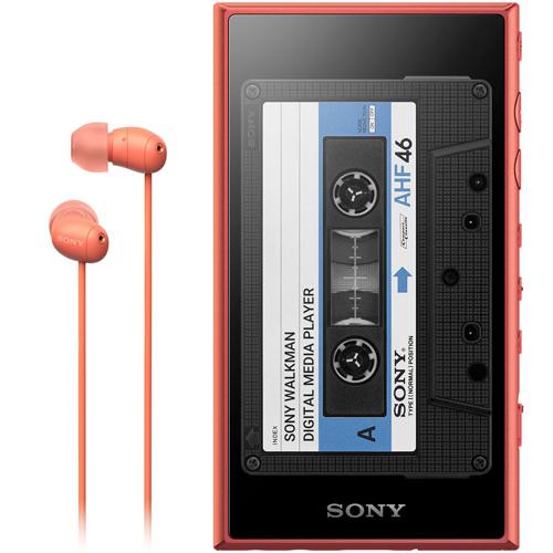 【送料無料】【在庫あり】14時までの注文で当日出荷可能! ソニー NW-A105HN-D(オレンジ) ウォークマンAシリーズ 16GB ノイズキャンセリングヘッドホン付