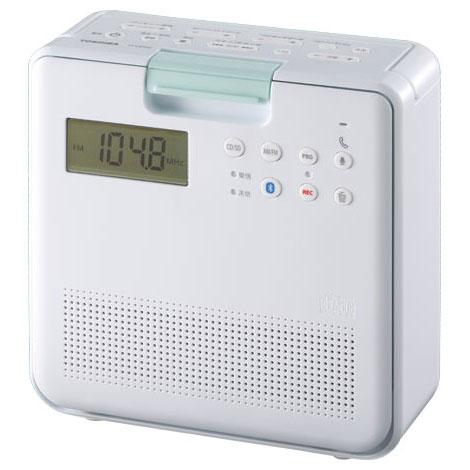 在庫あり 14時までの注文で当日出荷可能 東芝 TY-CB100-W SD 卓出 海外 CDラジオ ホワイト