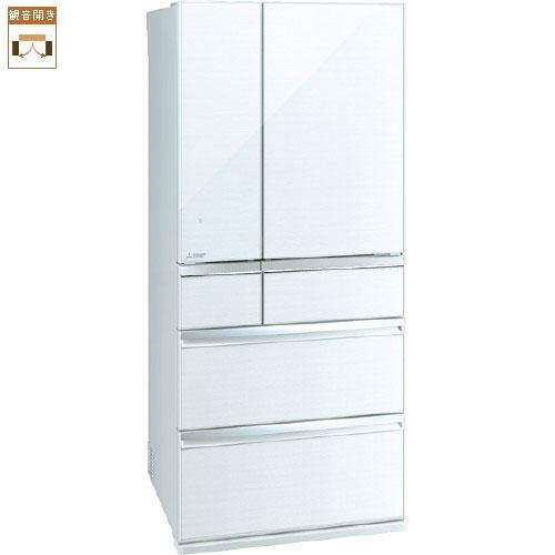 【標準設置料金込】【送料無料】三菱 MR-WX70E-W(クリスタルホワイト) WXシリーズ 6ドア冷蔵庫 観音開き 700L[代引・リボ・分割・ボーナス払い不可]