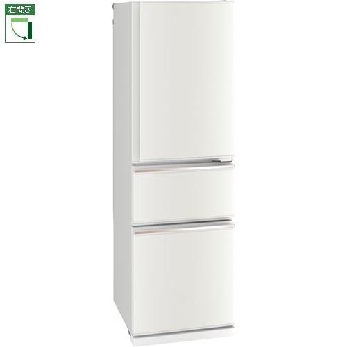 【標準設置料金込】【送料無料】三菱 MR-CX30E-W(ジュエリーホワイト) CXシリーズ 3ドア冷蔵庫 右開き 300L[代引・リボ・分割・ボーナス払い不可]