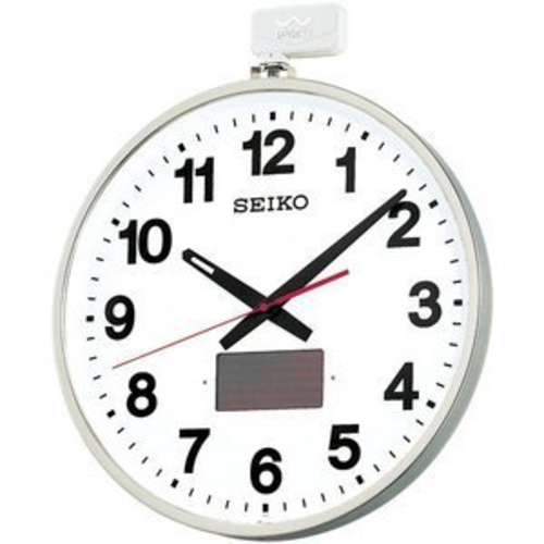 セイコー SF211S 屋外用ソーラー電波掛け時計