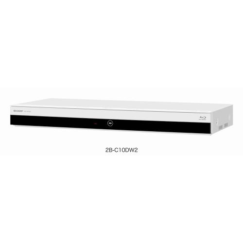 シャープ 2B-C10DW2 AQUOS 4Kレコーダー 2番組同時録画 1TB