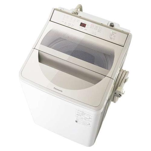 【設置+リサイクル+長期保証】パナソニック NA-FA100H8-N(シャンパン) 全自動洗濯機 上開き 洗濯10kg