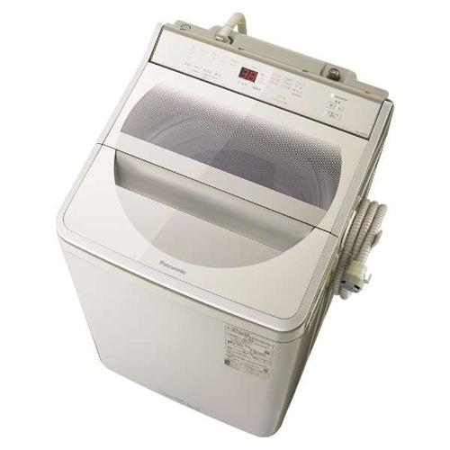 【設置+リサイクル】パナソニック NA-FA90H8-C(ストーンベージュ) 全自動洗濯機 上開き 洗濯9kg