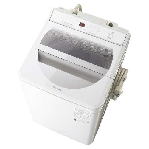 【設置+長期保証】パナソニック NA-FA100H8-W(ホワイト) 全自動洗濯機 上開き 洗濯10kg