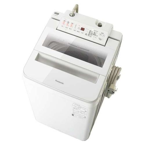【設置】パナソニック NA-FA70H8-W(ホワイト) 全自動洗濯機 上開き 洗濯7kg