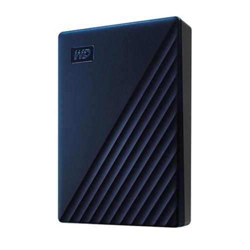 WesternDigital WDBA2F0040BBL-JESN(ブルー) My Passport for Mac 4TB