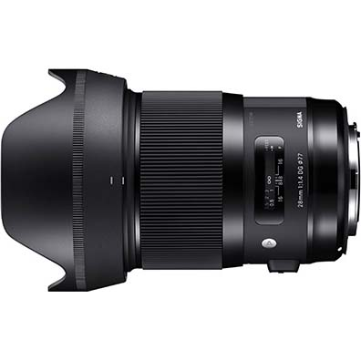 【長期保証付】シグマ 28mm F1.4 DG HSM ニコン用
