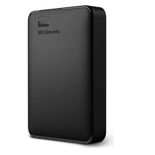 WesternDigital WDBU6Y0050BBK-JESN WD Elements Portable ポータブルHDD 5TB USB3.0/2.0接続