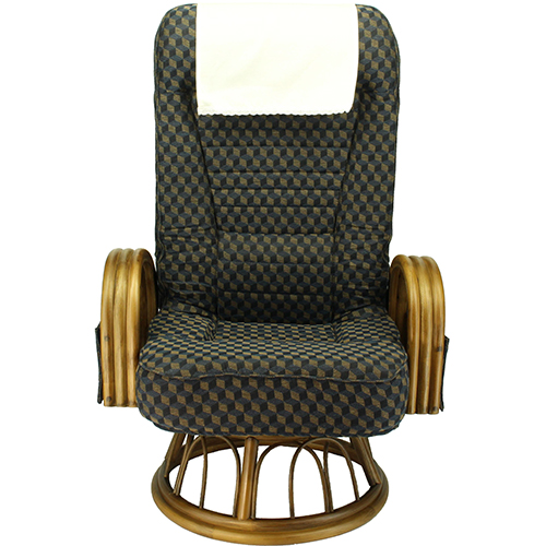 S3-035ARLN-32-KOB(ネイビー) 回転座椅子 ミドルタイプ