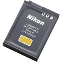 オンライン限定商品 在庫あり 14時までの注文で当日出荷可能 ニコン EN-EL12 Li-ionリチャージャブルバッテリー 登場大人気アイテム