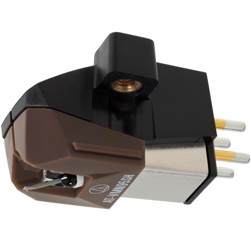 オーディオテクニカ AT-VM95SH VM型(デュアルムービングマグネット) ステレオカートリッジ ブラウン