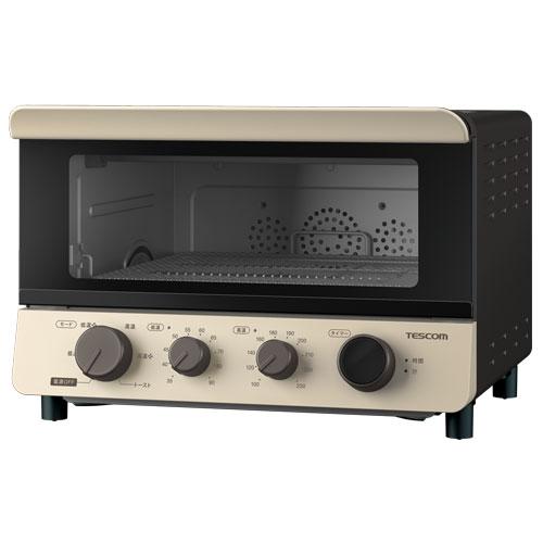 在庫あり 当店限定販売 新着セール 14時までの注文で当日出荷可能 テスコム TSF601-C 1200W 低温コンベクションオーブン コンフォートベージュ