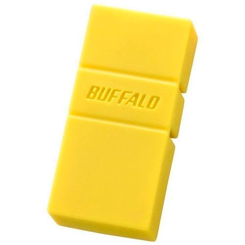 在庫あり 美品 14時までの注文で当日出荷可能 激安卸販売新品 バッファロー RUF3-AC32G-YE 32GB イエロー スタンダードUSBメモリー