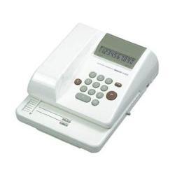 コクヨ IS-E22 電子チェックライター10桁リピート印字抹消機能