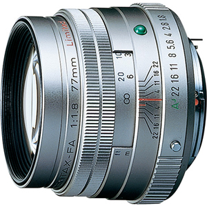 【長期保証付】ペンタックス smc PENTAX-FA 77mmF1.8 Limited(シルバー)