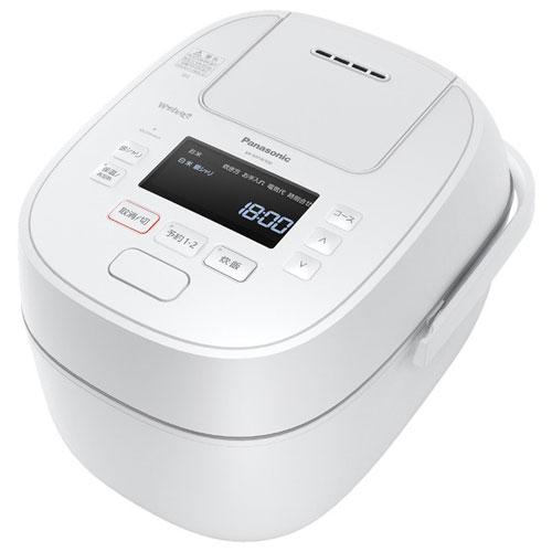 パナソニック SR-MPW100-W(ホワイト) Wおどり炊き 可変圧力IHジャー炊飯器 5.5合