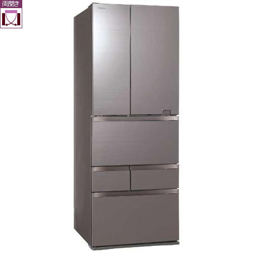 【標準設置料金込】【送料無料】東芝 GR-S600FZ-ZH(アッシュグレージュ) 6ドア冷蔵庫 観音開き 601L[代引・リボ・分割・ボーナス払い不可]