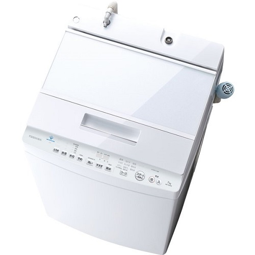 【長期保証付】東芝 AW-7D9-W(グランホワイト) 全自動洗濯機 上開き 洗濯7kg/乾燥3kg