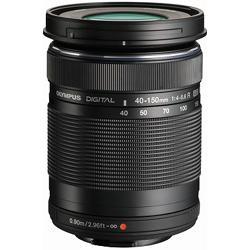 【長期保証付】オリンパス M.ZUIKO DIGITAL ED 40-150mm F4.0-5.6 R(ブラック)