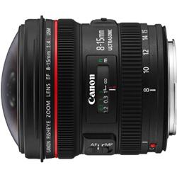 【長期保証付】CANON EF8-15mm F4L フィッシュアイ USM