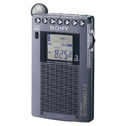 索尼ICF-RN931 FM/收音机NIKKEI/AM PLL电子合成器收音机
