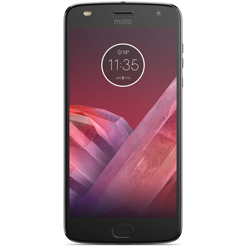 モトローラ AP3835AC3J4(ルナグレー) Moto Z2 Play SIMフリー LTE対応 64GB