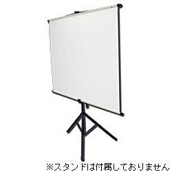 キクチ科学研究所 KPV-100HDW 100型HDサイズ壁掛け型スクリーン 幕面黒マスクなしホワイトマット仕様