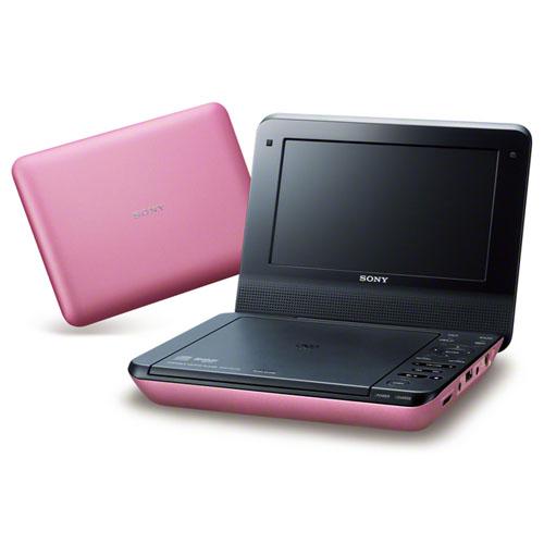 【長期保証付】ソニー DVP-FX780-P(ピンク) ポータブルDVDプレーヤー