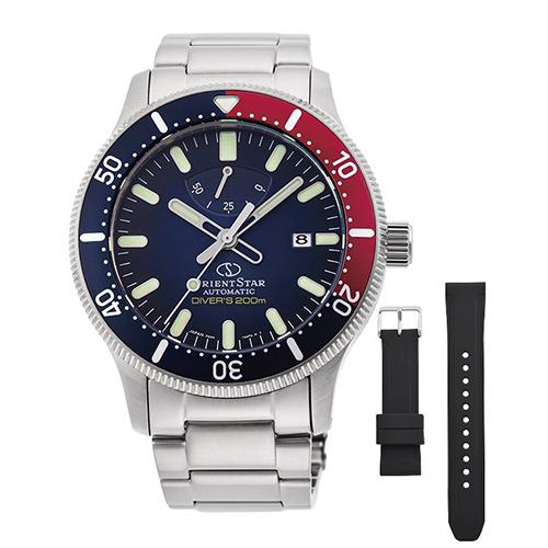 【長期保証付】オリエント RK-AU0306L(ブルーグラデーション) オリエントスター 自動巻き(手巻き付き) 腕時計(メンズ)