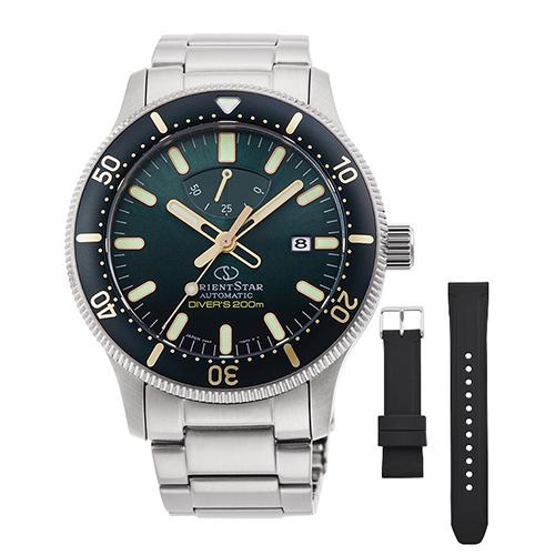オリエント RK-AU0307E(グリーングラデーション) オリエントスター 自動巻き(手巻き付き) 腕時計(メンズ)