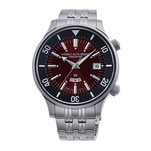 【長期保証付】オリエント RN-AA0D12R(レッド) 自動巻き(手巻き付き) 腕時計(メンズ)