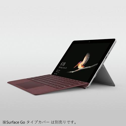 マイクロソフト Surface Go 10型液晶 (シルバー) MHN-00017 Pentium Gold 4415Y 64GB eMMC/4GBモデル
