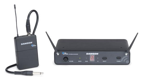 SAMSON サムソン楽器用ワイヤレス・マイク・システム SW88GT 周波数可変式
