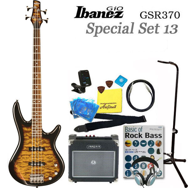 Ibanez アイバニーズ GSR370 TYS 13点スペシャル入門セット【ベース初心者】
