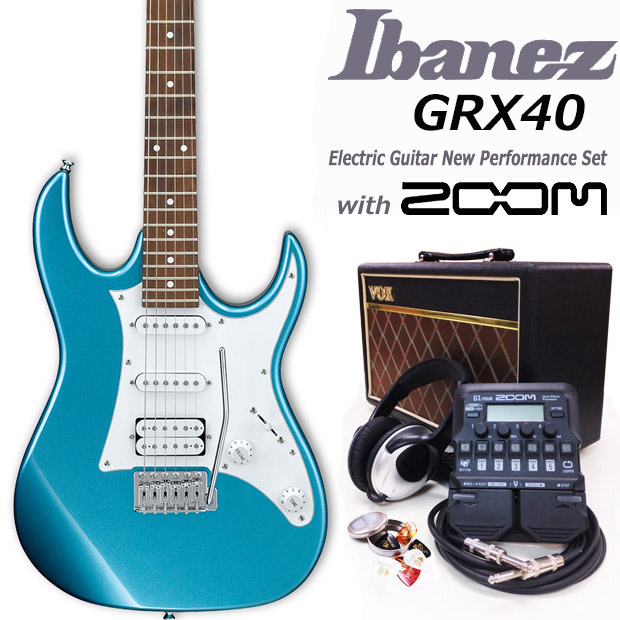エレキギター初心者 アイバニーズ Ibanez GRX40 MLB 入門セット18点【エレキギター初心者】