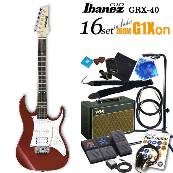 Ibanez アイバニーズ GRX40 CAエレキギター初心者 16点入門セット【エレキギター初心者】【送料無料】