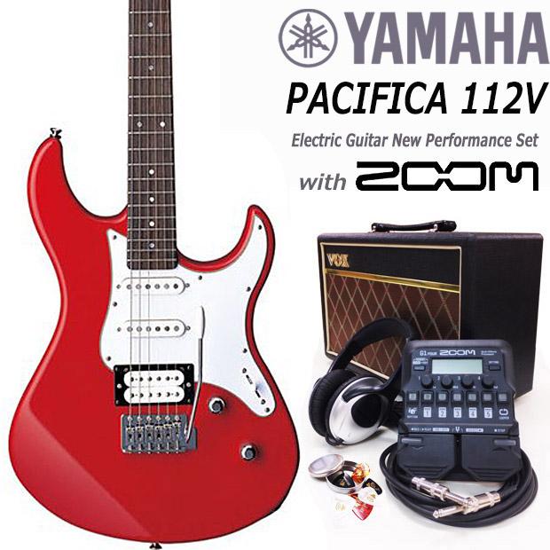 エレキギター初心者入門 YAMAHA ヤマハ PACIFICA 112V/RBR 16点セット【エレキ ギター初心者】【送料無料】