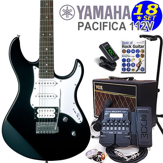 エレキギター初心者入門 YAMAHA ヤマハ PACIFICA 112V/BL 18点セット【エレキ ギター初心者】