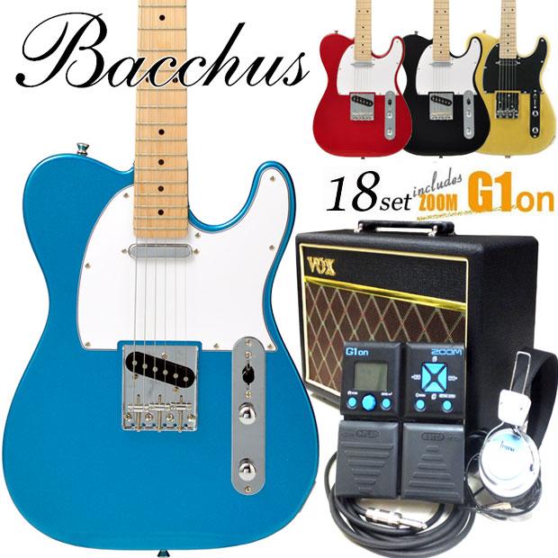 テレキャスター Bacchus BTE-1M BLK エレキギター 【バッカス BTE1M】 シリーズ ユニバース