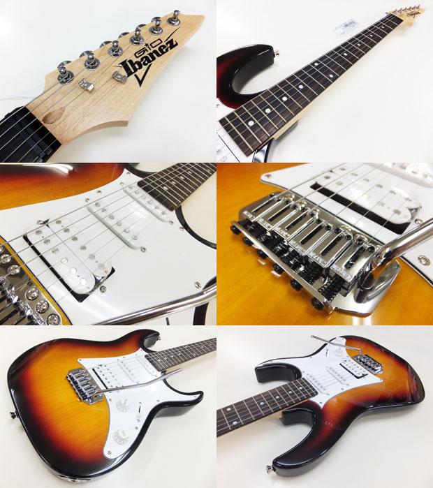 ebisound electric guitar beginner ibanez gio ibanez grx40a tfb primer set 13 points rakuten. Black Bedroom Furniture Sets. Home Design Ideas