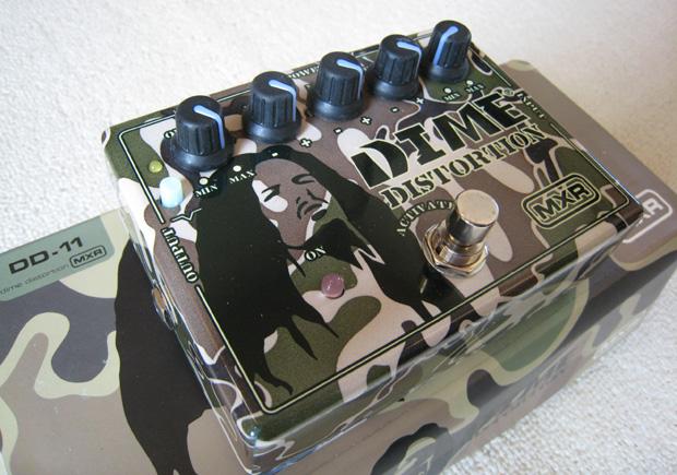 【9Vアダプタープレゼント!】Dunlop エフェクター MXR 『DD-11』 DIME_DISTORTIONダイムバックダレル