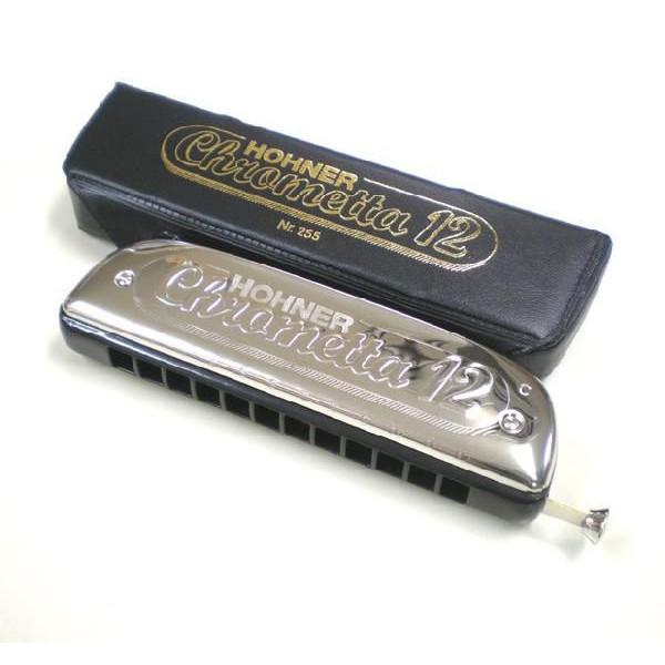 HOHNER ホーナー Super Chrometta12 255/48 クロマチックハーモニカ