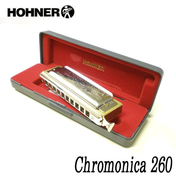 HOHNER 260/40 ホーナー Chromonica 260 260 HOHNER/40 ホーナー クロマチックハーモニカ, ボディピアス専門店 凛:c025d662 --- officewill.xsrv.jp