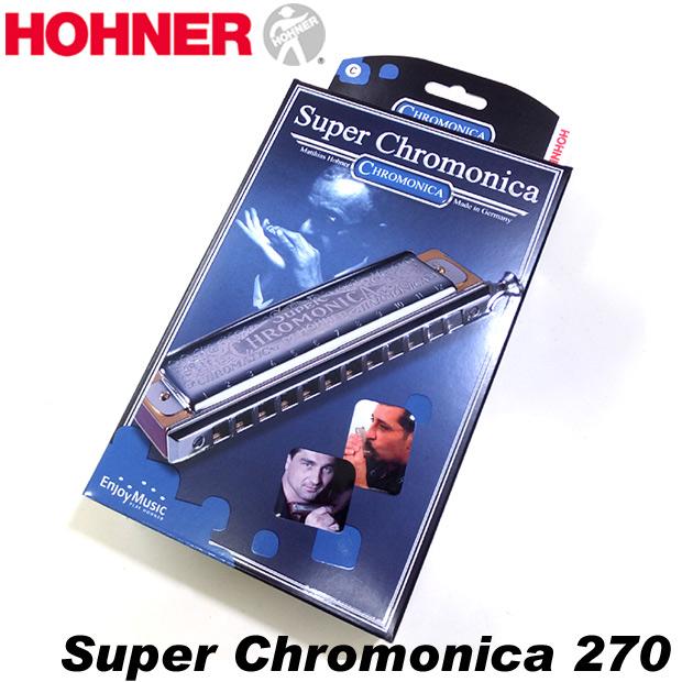 HOHNER ホーナー Super Chromonica270 270/48 C調 クロマチックハーモニカ