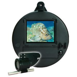【代引不可】 釣竿型水中カメラ うみなかみるぞう君 Black-S ライン長20m