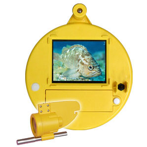 【代引不可】 釣竿型水中カメラ うみなかみるぞう君 ライン長25m