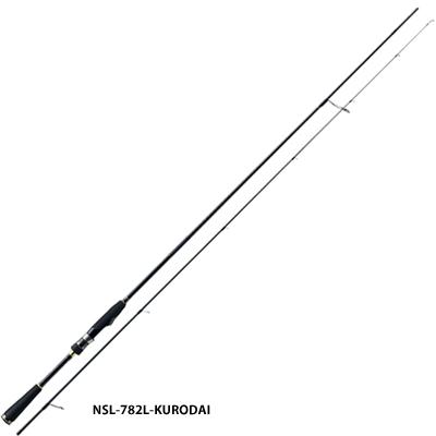 メジャークラフト N-ONE NSL-782M-黒鯛 スピニングロッド ライトゲームロッド