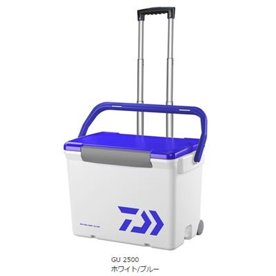 最安価格 ダイワ シークールキャリー II GU 2500 2500 ホワイト ホワイト/ブルー ダイワ/ブルー, こだわりの革 MARUYA selection:1859d2dd --- canoncity.azurewebsites.net