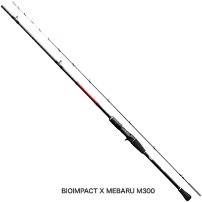 シマノ バイオインパクトX メバル[BIOIMPACT X MEBARU] M300 ベイトロッドメバルロッド